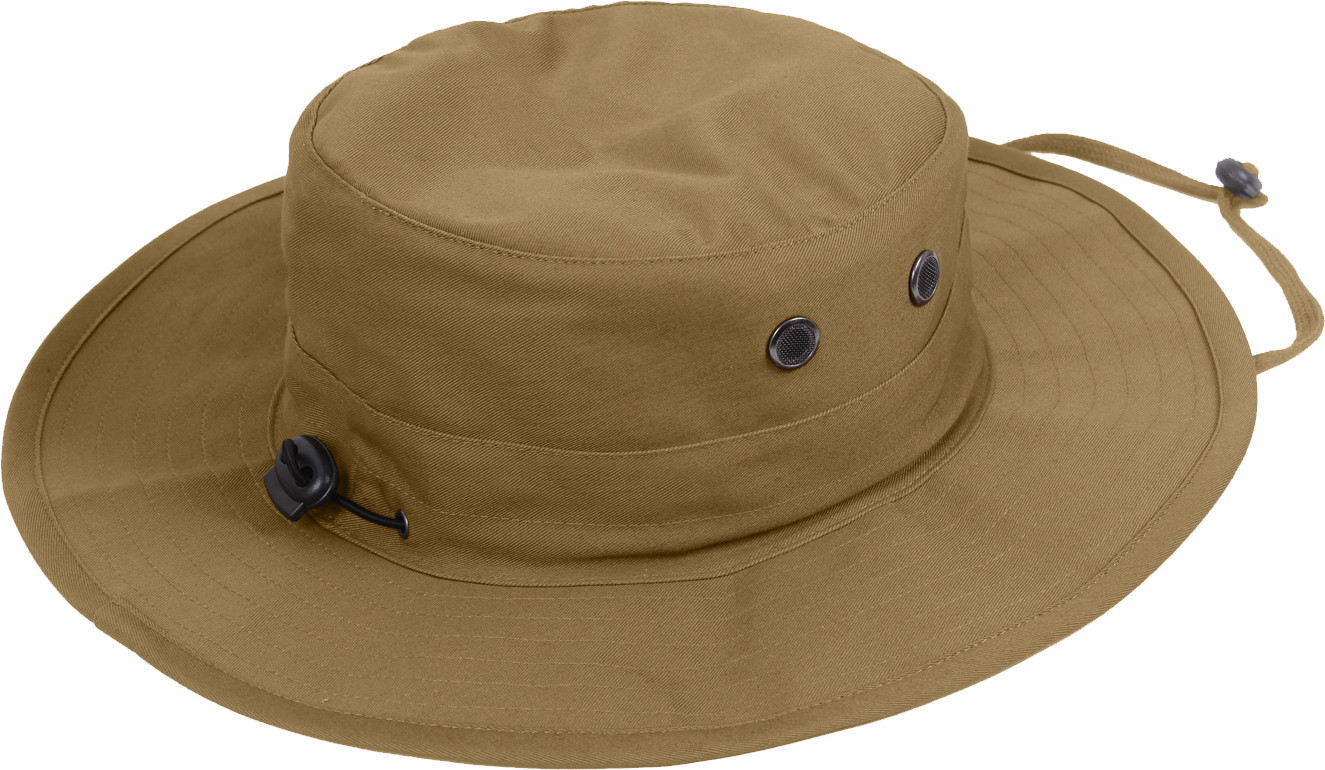 ffb33ce0fb0 More Views. Coyote Brown Military Adjustable Hunting Wide Brim Jungle  Boonie Hat