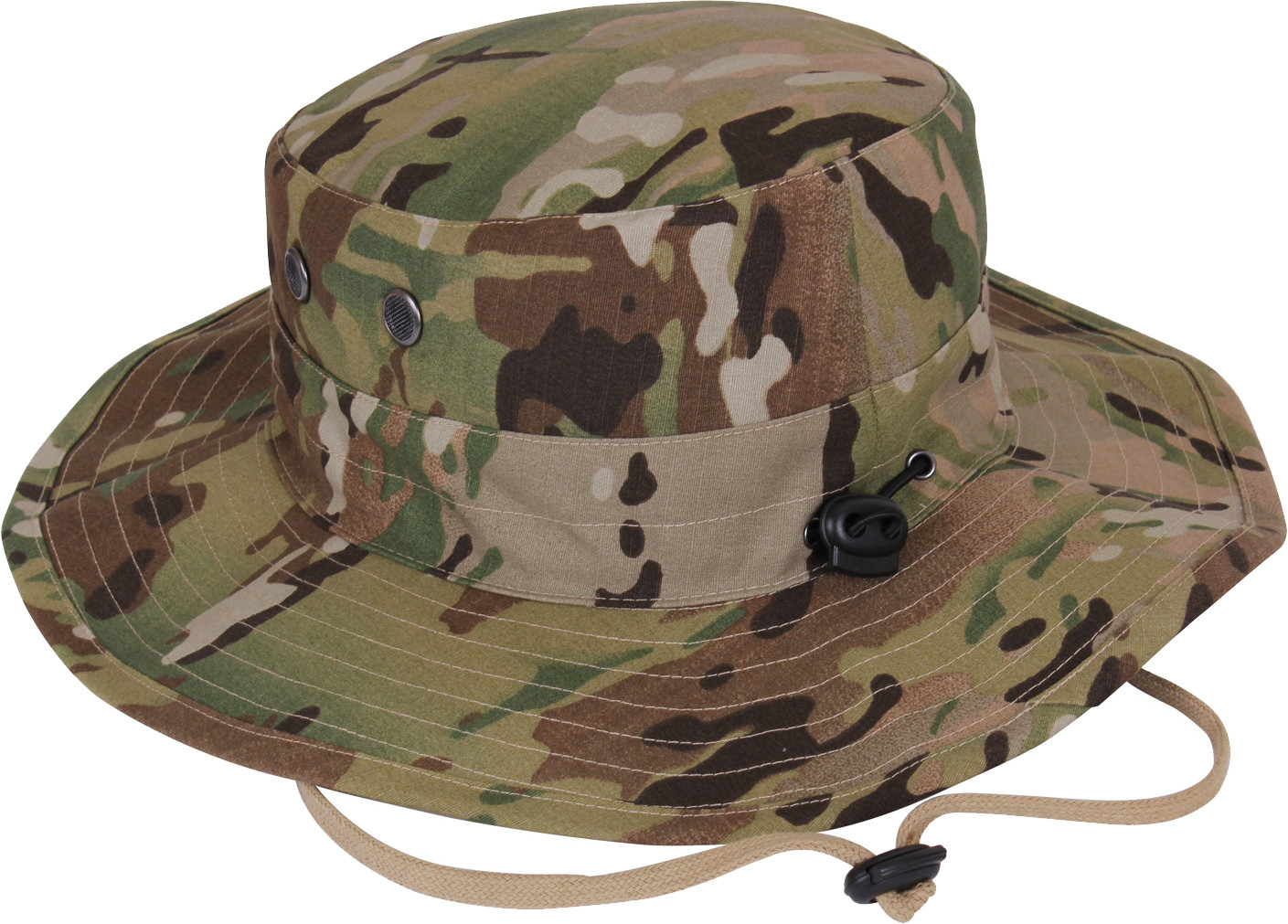 MultiCam Military Adjustable Hunting Wide Brim Jungle Boonie Hat 0a3083d4788