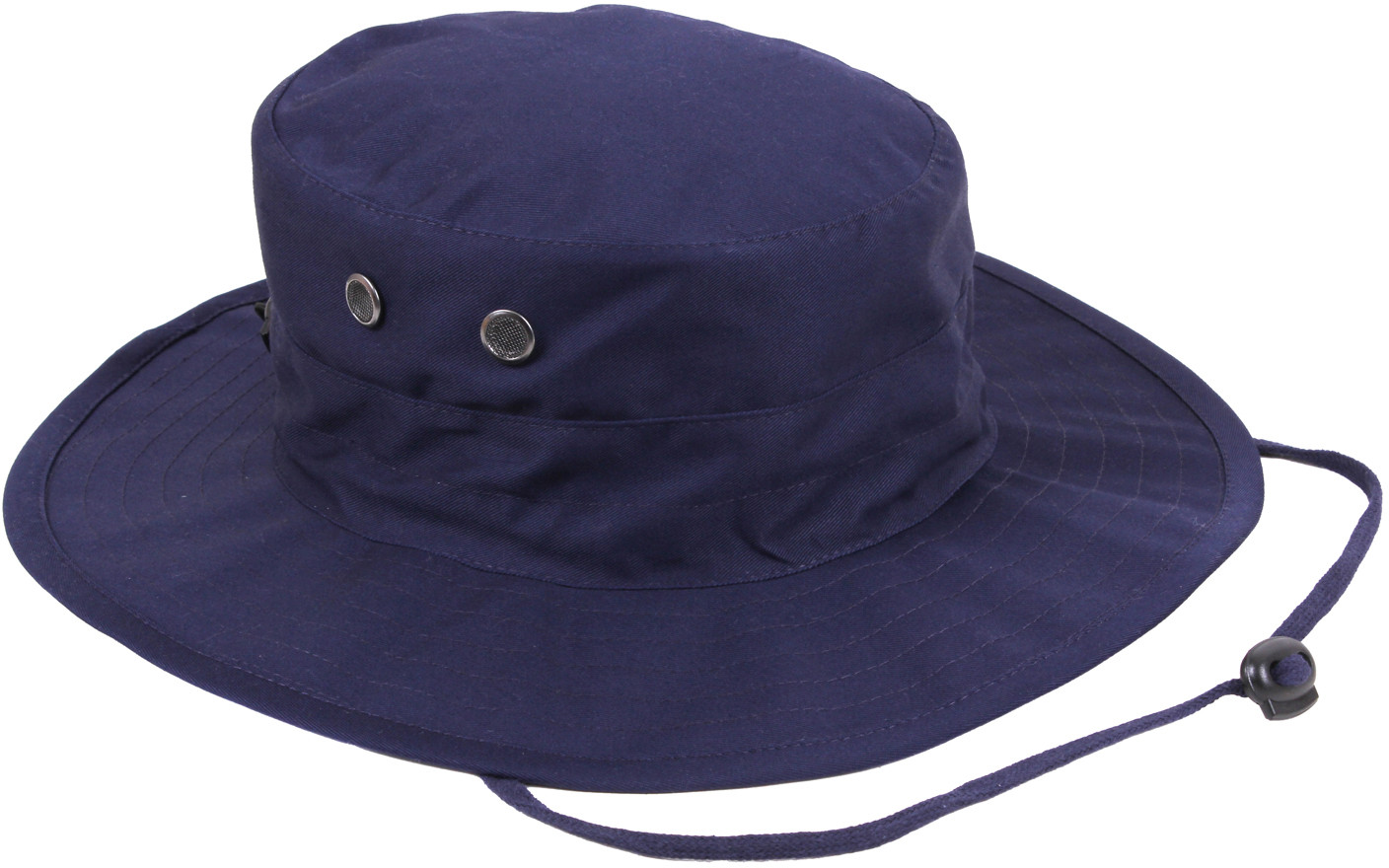 c4864c18e58 More Views. Navy Blue Military Adjustable Hunting Wide Brim Jungle Boonie  Hat