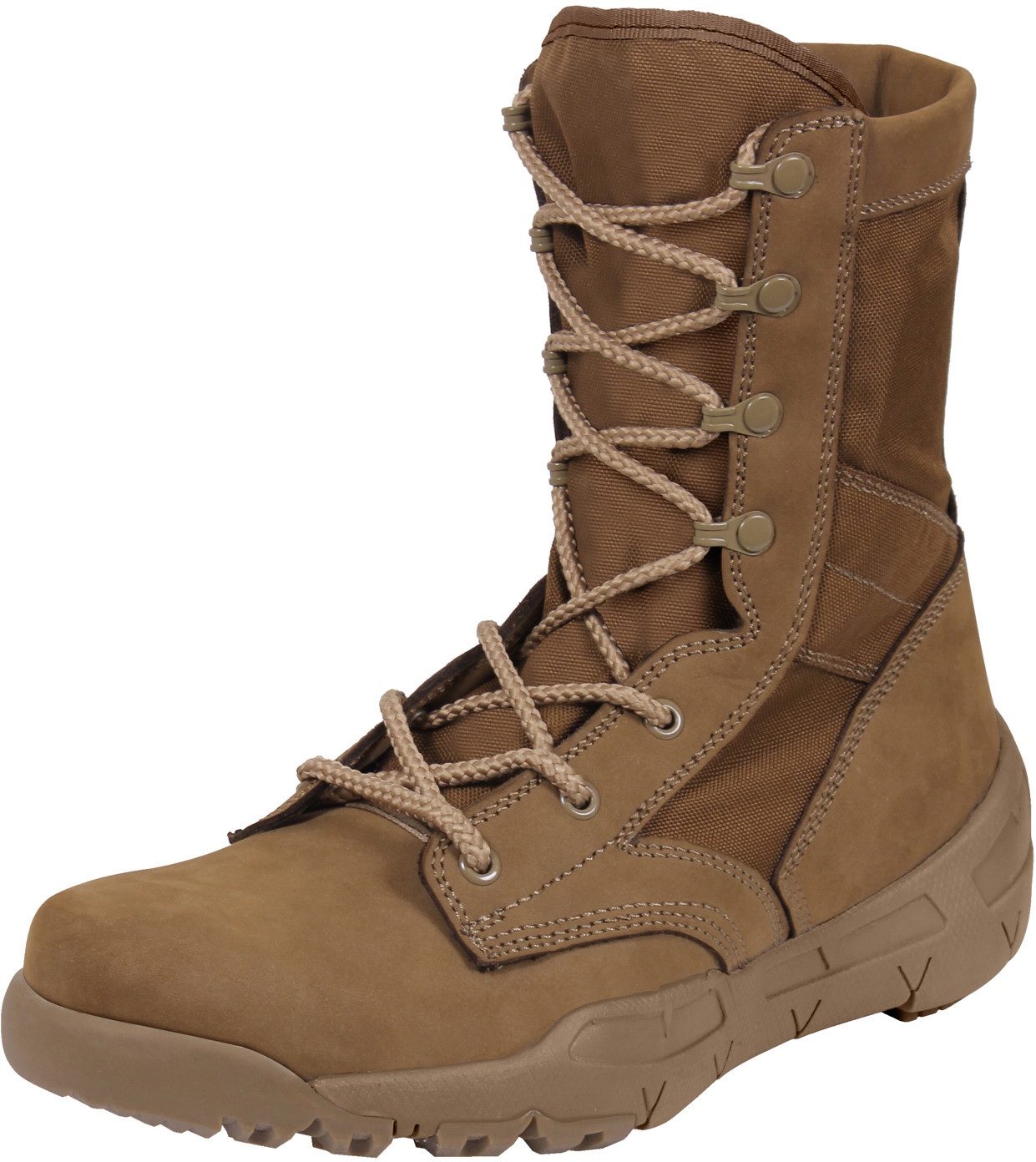 Coyote Brown AR 670-1 US Army V-Max Lightweight Tactical Boots ff6d8d82f23