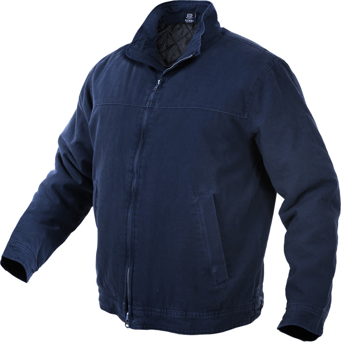 Navy Blue Military Concealed Carry 3 Season Tactical Jacket 5a33b10d0