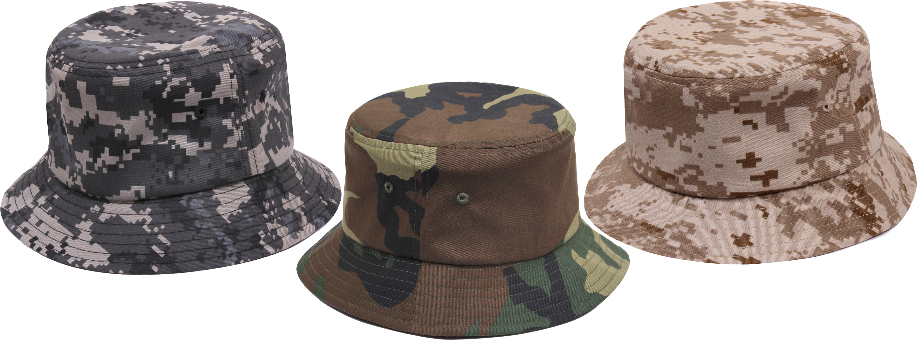 bea6b6f4214 Camouflage Military Classic Bucket Hat