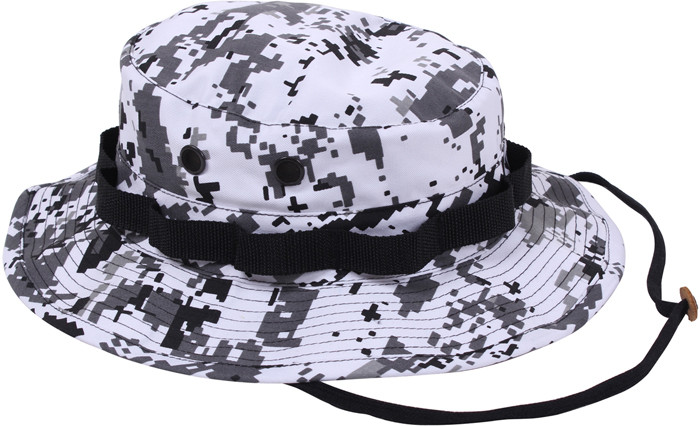 More Views. City Digital Camouflage Military Wide Brim Boonie Hat d6e1a97fa1ad