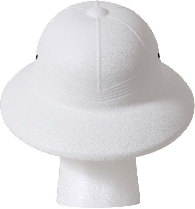 51085cd9eea8e White Vietnam Style Light-Weight Safari Pith Helmet