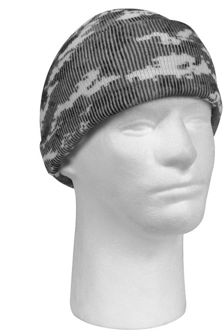 City Digital Camouflage Deluxe Knitted Winter Hat Acrylic Watch Cap 1dc74bc17fb
