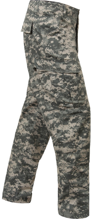 ACU Digital Camouflage ACU Rip-Stop Combat Trousers Cargo Pants afee6bf9436