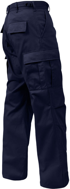 midnight blue military polyester cotton fatigue bdu pants. Black Bedroom Furniture Sets. Home Design Ideas