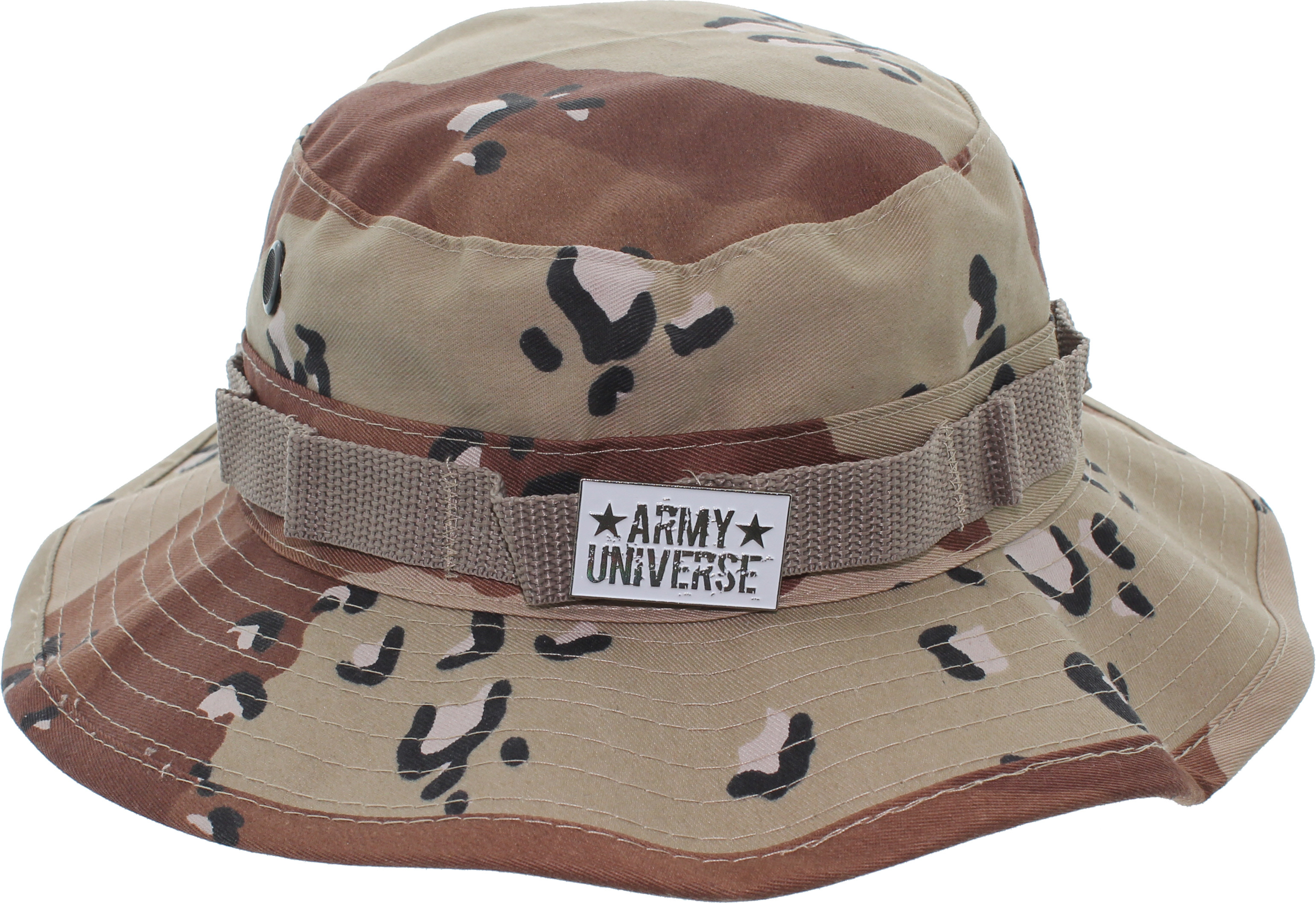 8e73bd63e8a ... Desert Camouflage Boonie Hat with ARMY UNIVERSE Pin  Desert Digital ...