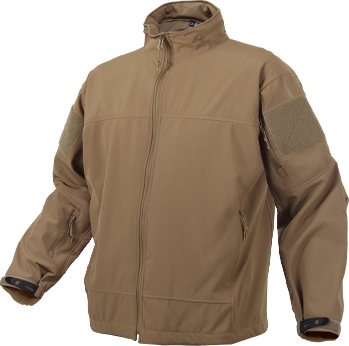 Coyote Brown Military Soft Shell Covert Light Weight Casual ... 0aca0c5bd2b