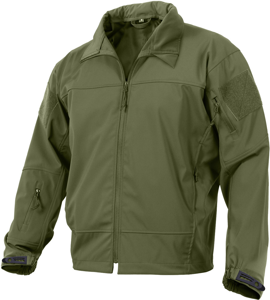 More Views. Olive Drab Tactical Covert Operations Lightweight Soft Shell  Jacket 509c0bf4cc8