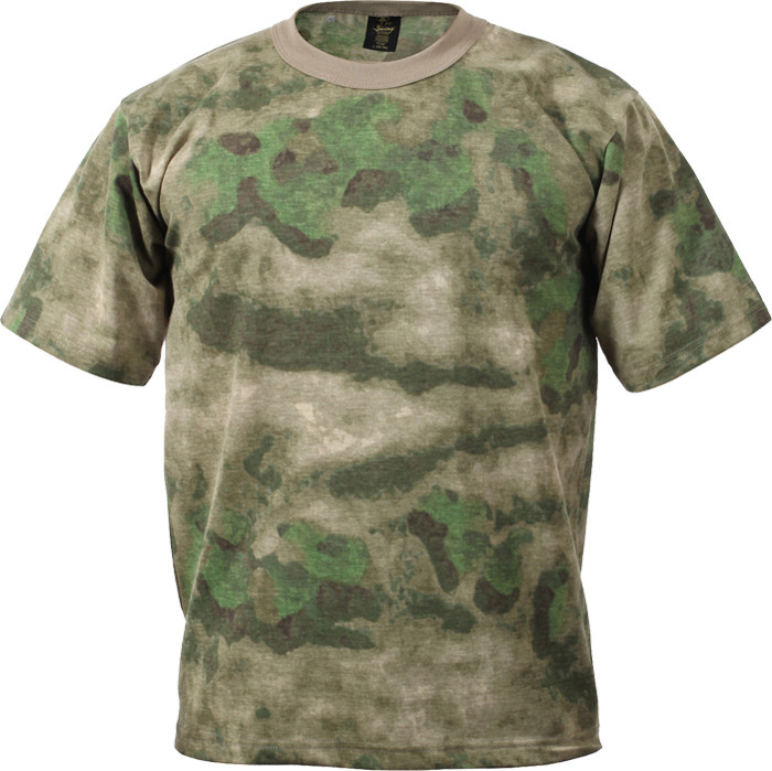 A-TACS FG Military Camouflage Short Sleeve T-Shirt 74a07398417
