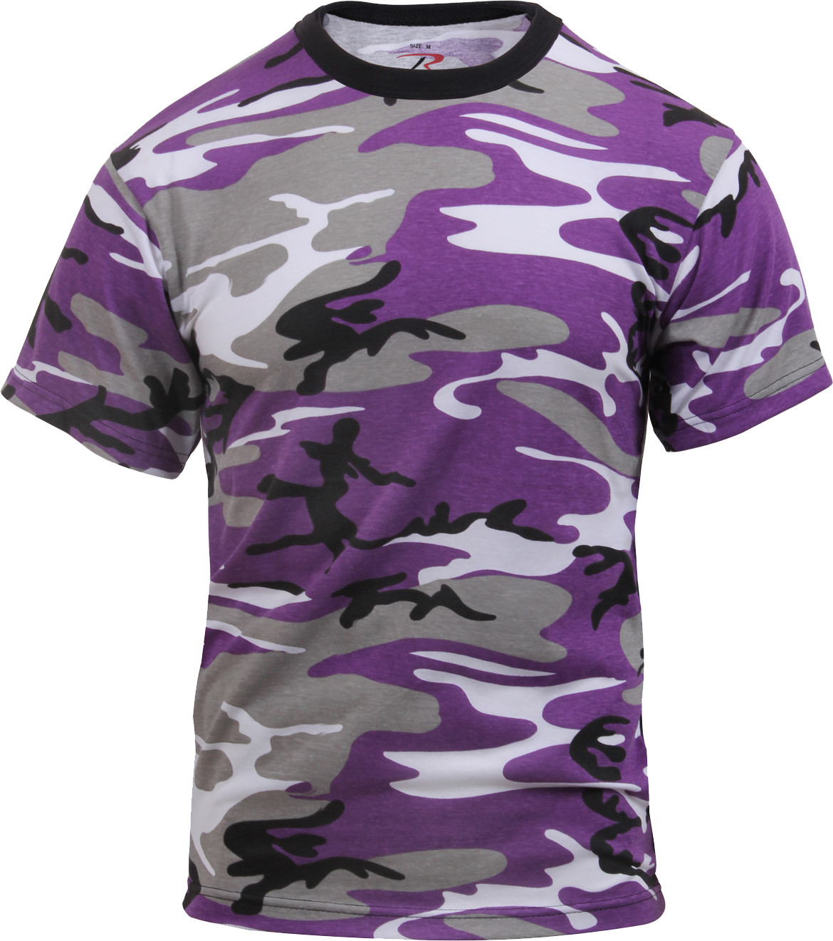 Purple Camouflage Military Short Sleeve T-Shirt d3191c06b