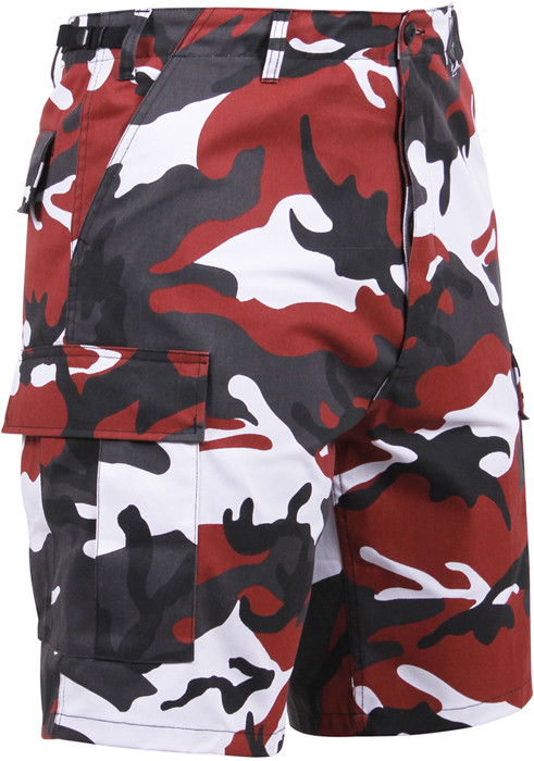 More Views. Red Camouflage Cargo Military BDU Shorts ... bcfb81f3655