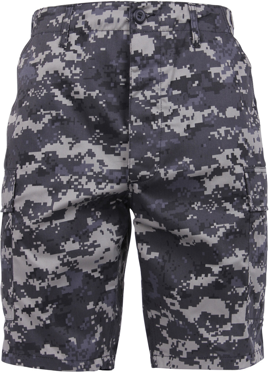 Subdued Urban Digital Camouflage Combat Military Cargo BDU Shorts 4fa7923b9b1