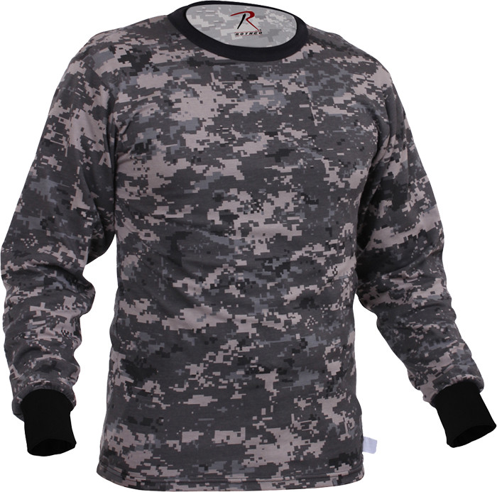 Subdued Urban Digital Camouflage Tactical Long Sleeve Military T-Shirt 5cd62c2a67f