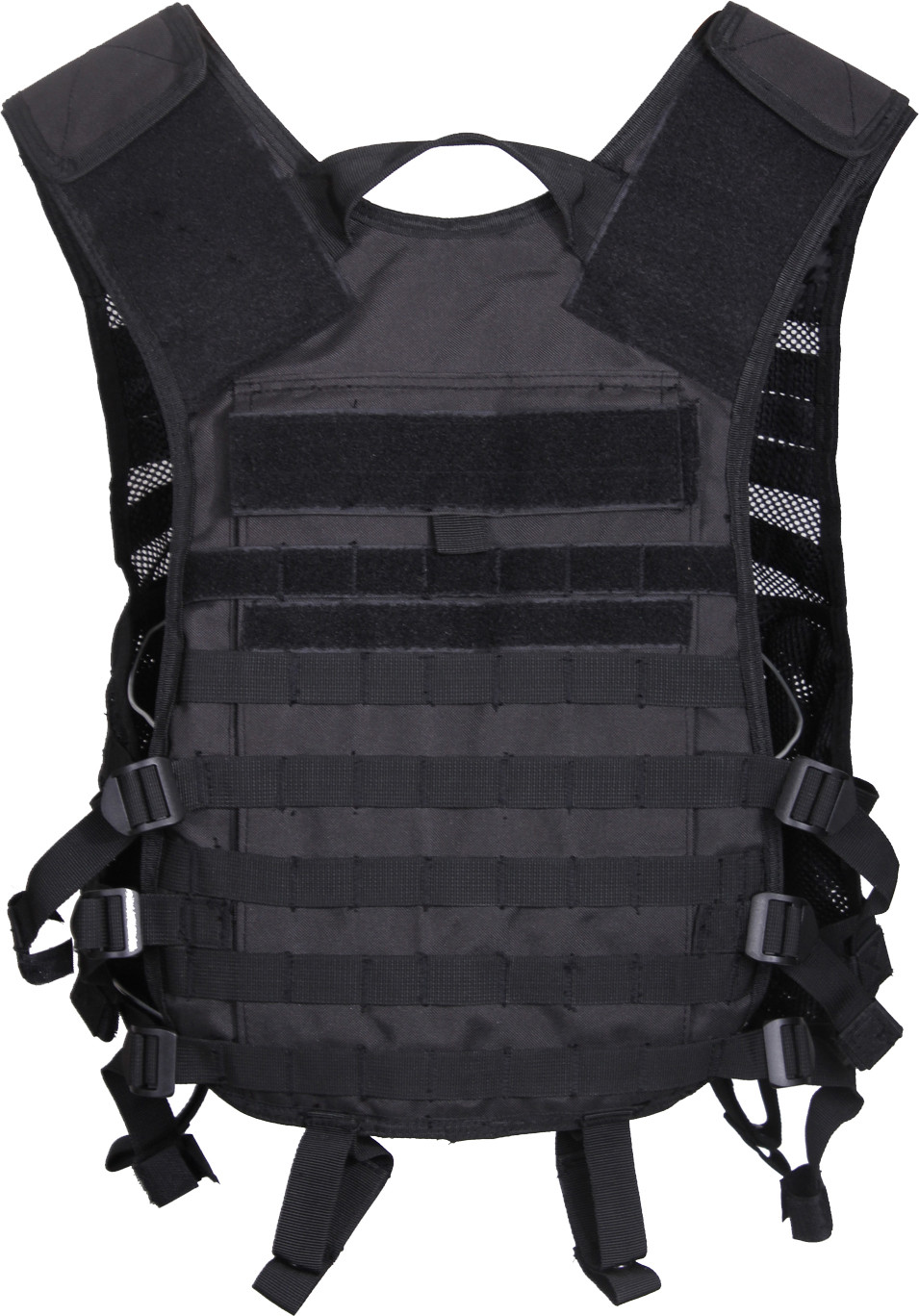 More Views. Black Military MOLLE Adjustable Lightweight Mesh Tactical  Utility Vest ... 39c5ba4572a