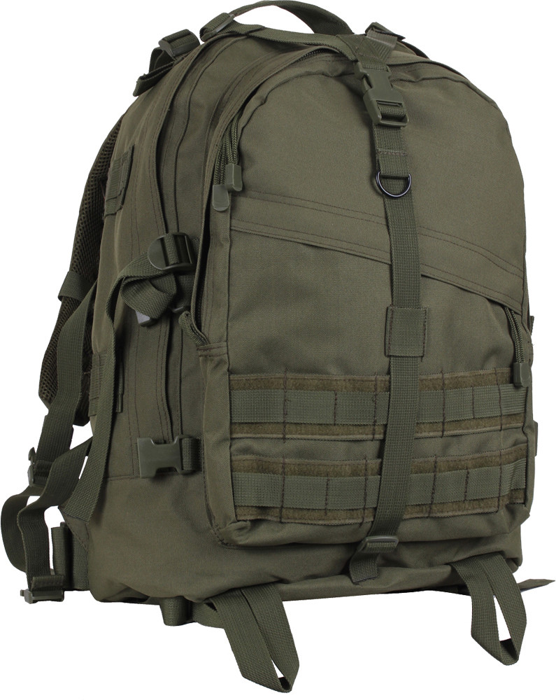 More Views. Olive Drab Military MOLLE Large Transport Assault Pack Backpack 6268224fa6a