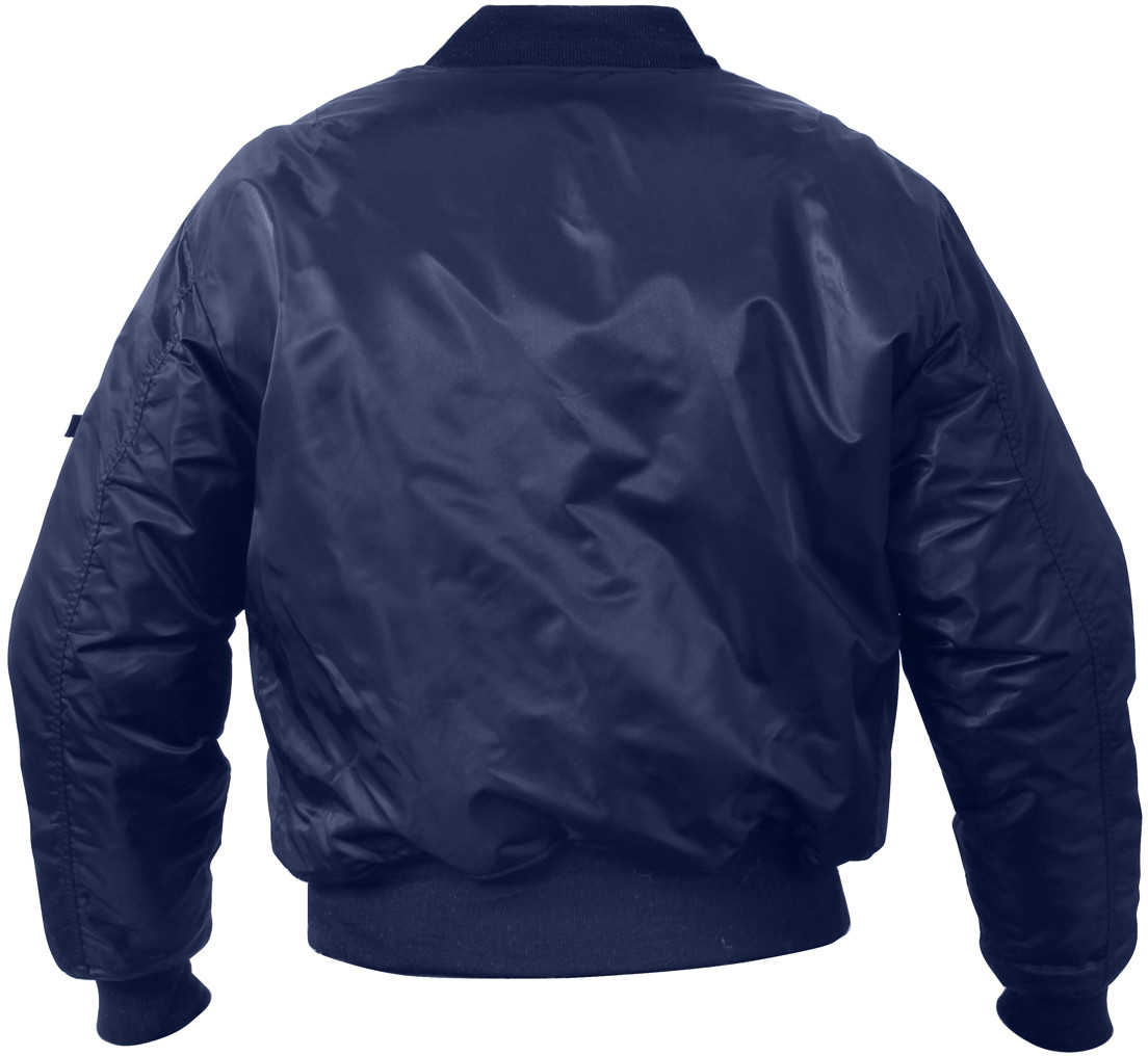 Navy Blue Military Air Force MA-1 Bomber Flight Jacket a969c57f6aa