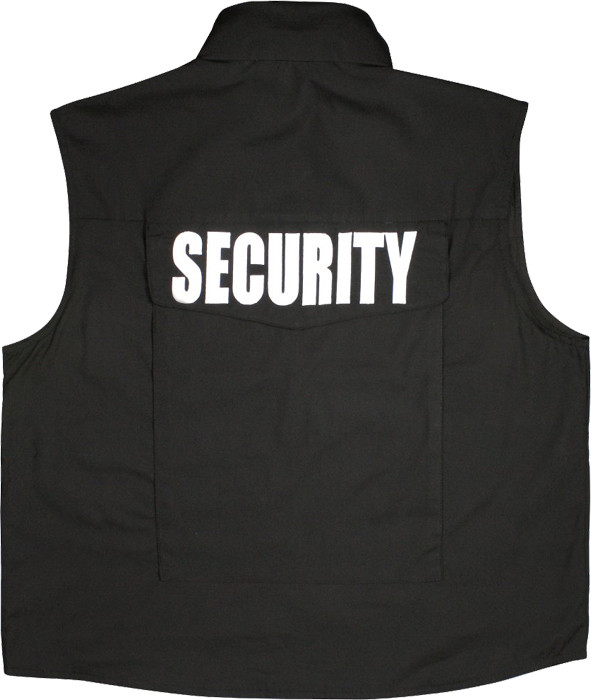 Black Military Security Tactical Law Enforcement Ranger Vest With Hood ee0a1e2ec6d