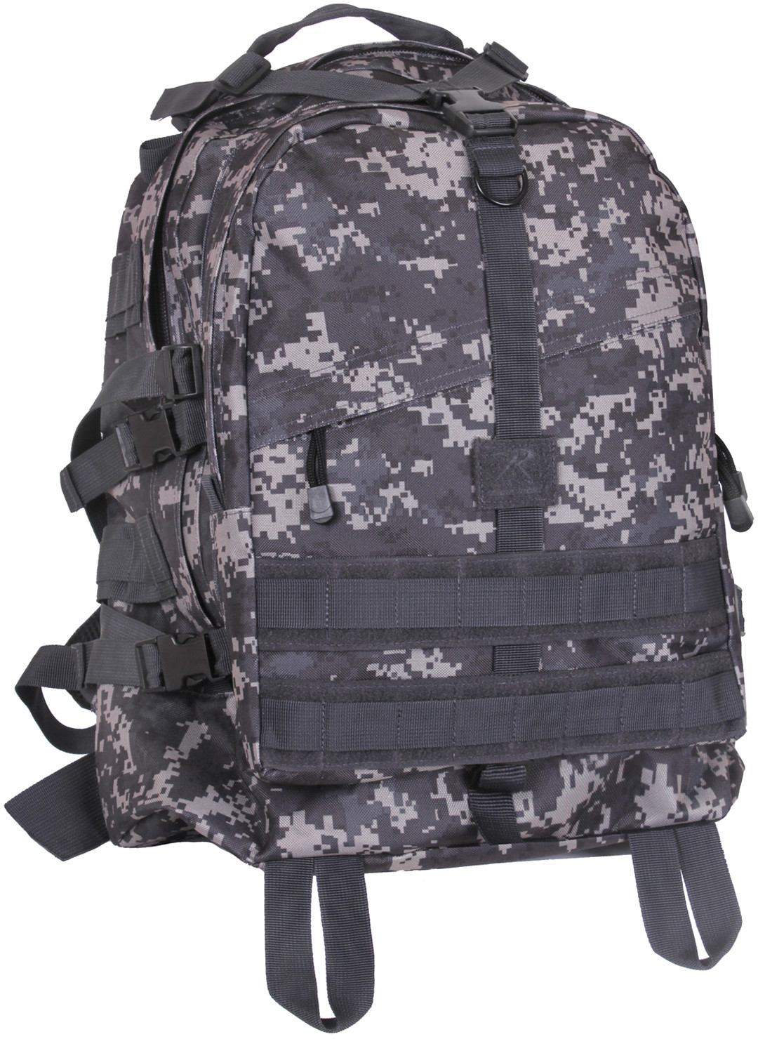 More Views. Subdued Urban Digital Camouflage Military MOLLE Large Transport  Assault Pack Backpack 6442dbc586b