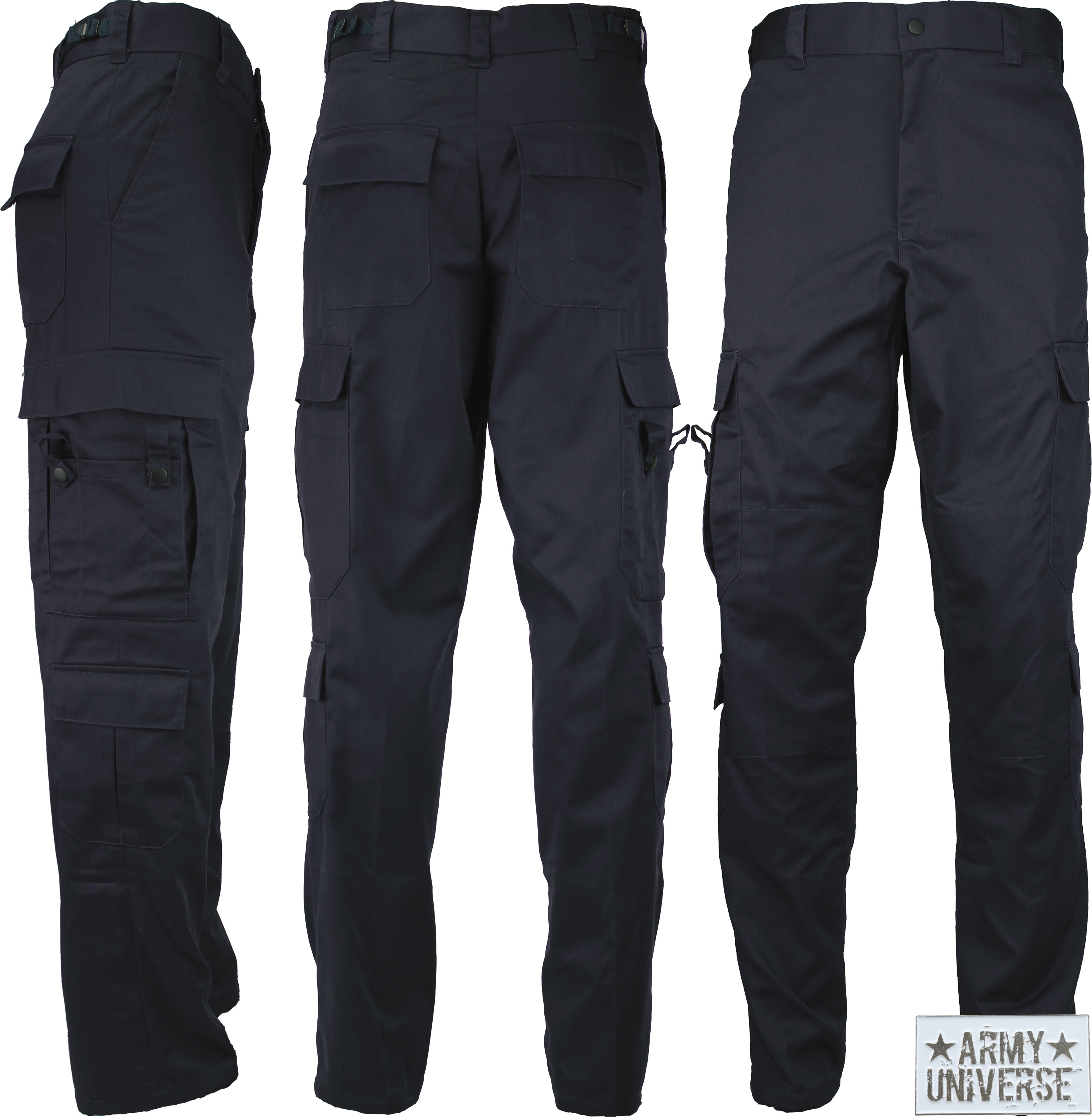 ... Midnight Dark Navy Deluxe EMT 9 Pocket First Responder Uniform Pants w   ArmyUniverse Pin  Navy Blue ... a0dbe54a7345