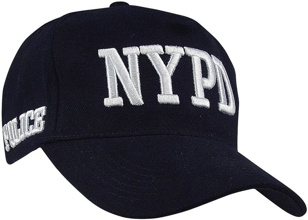 More Views. Navy Blue Official NYPD Police Deluxe Adjustable Baseball Cap cd862117ac2