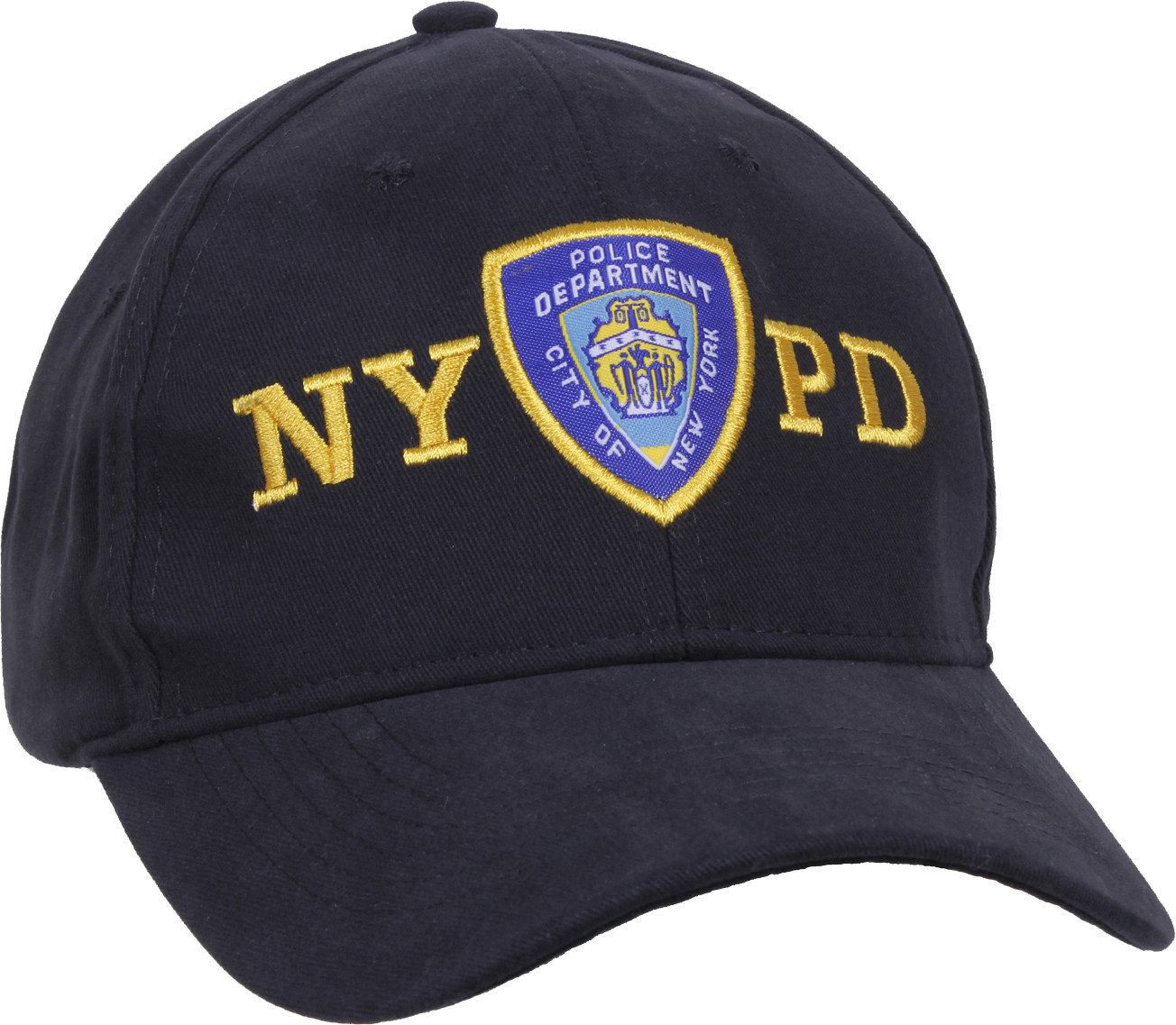 More Views. Navy Blue Official NYPD New York Police Department Emblem Baseball  Cap ... 080fe75b68d
