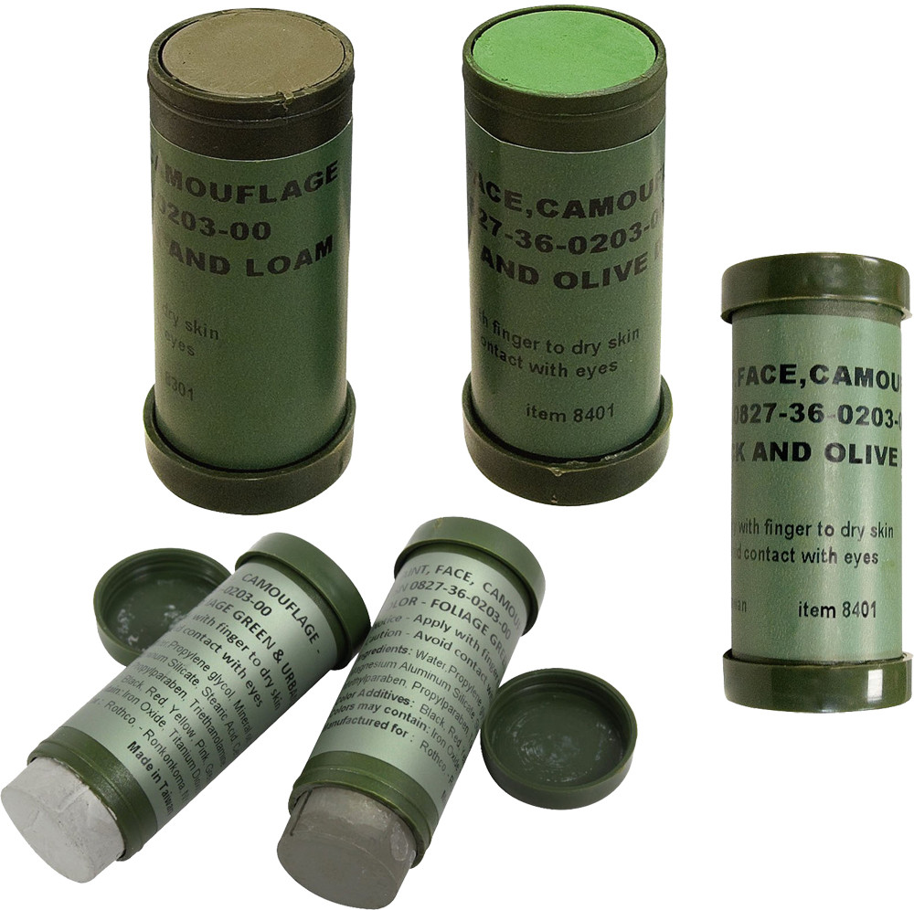 More Views. 3 Pack - Camouflage NATO Military Paint Sticks 2b20894e2c6
