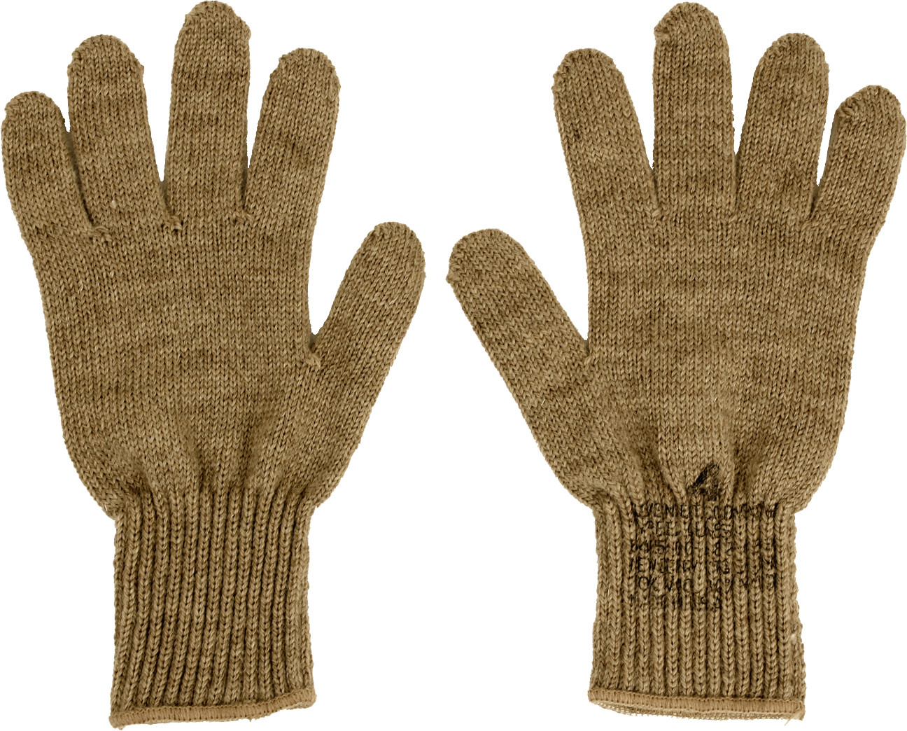Coyote Brown Military D-3A Wool Glove Liners USA Made db231296f1e