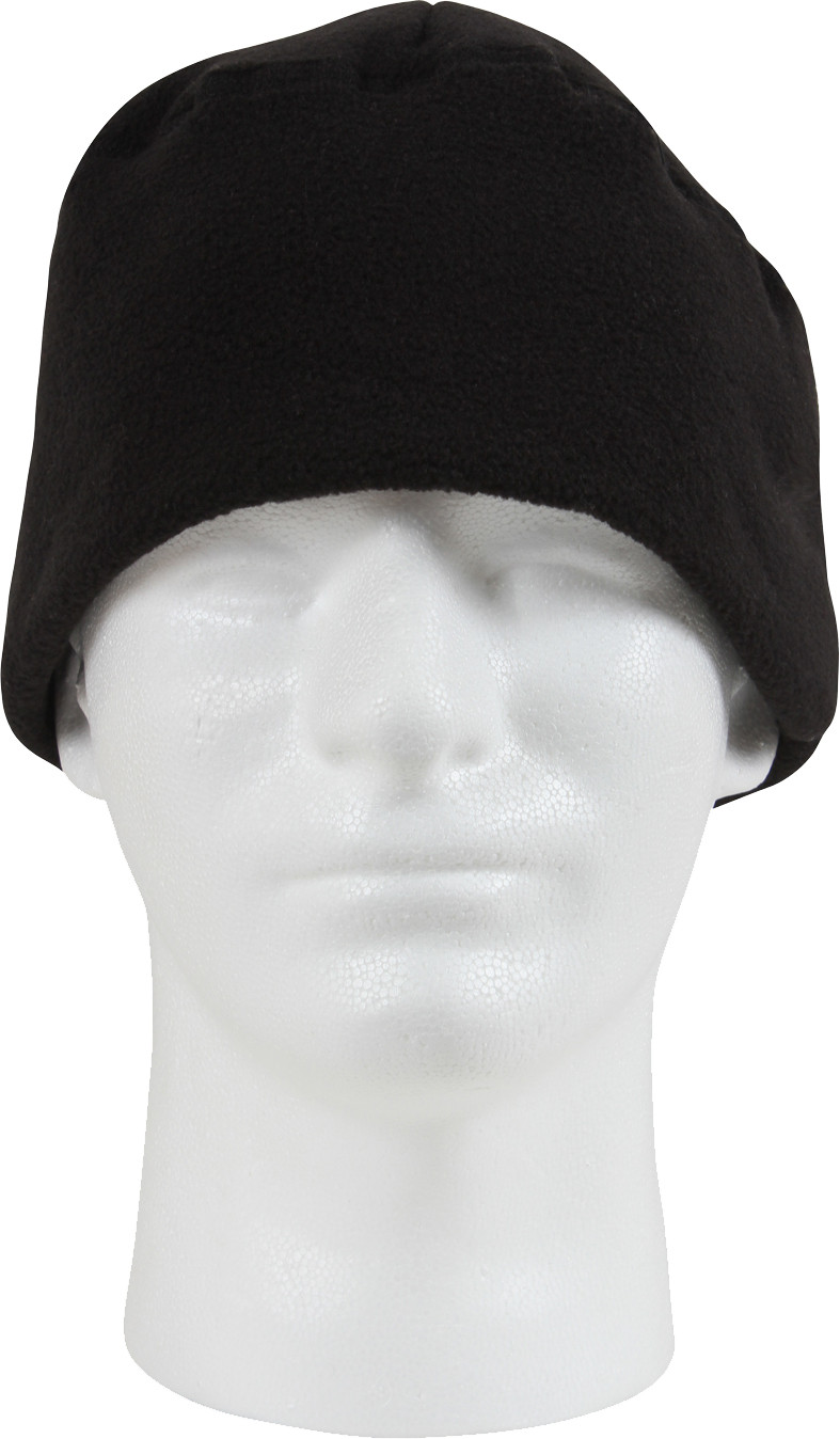 Black Army Polar Fleece Beanie Watch Cap 71fd6b393ea