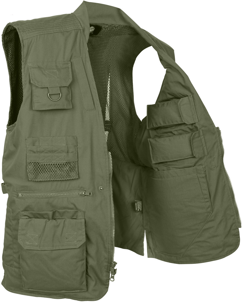 Olive Drab Multi Pocket Cargo Tactical Concealed Carry