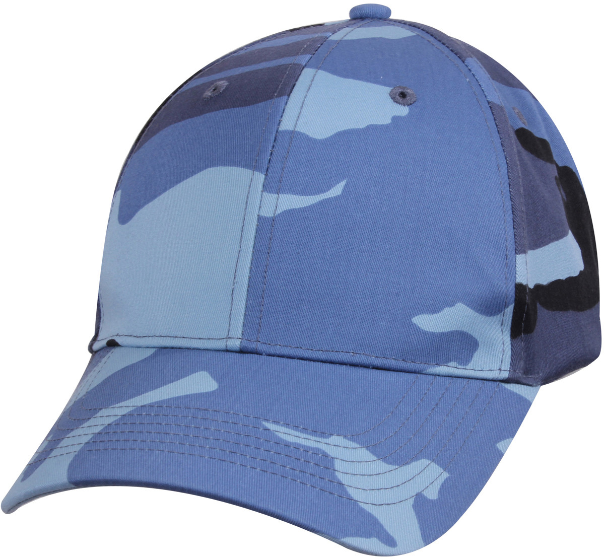 More Views. Sky Blue Camouflage Supreme Military Low Profile Baseball Cap 0e96f94202c