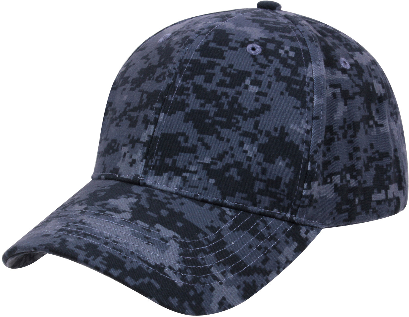 More Views. Midnight Digital Camouflage Supreme Military Low Profile  Baseball Cap 872767cfe67