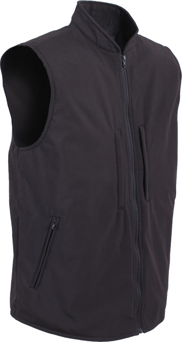 Black Military Concealed Soft Shell Tactical Carry Vest