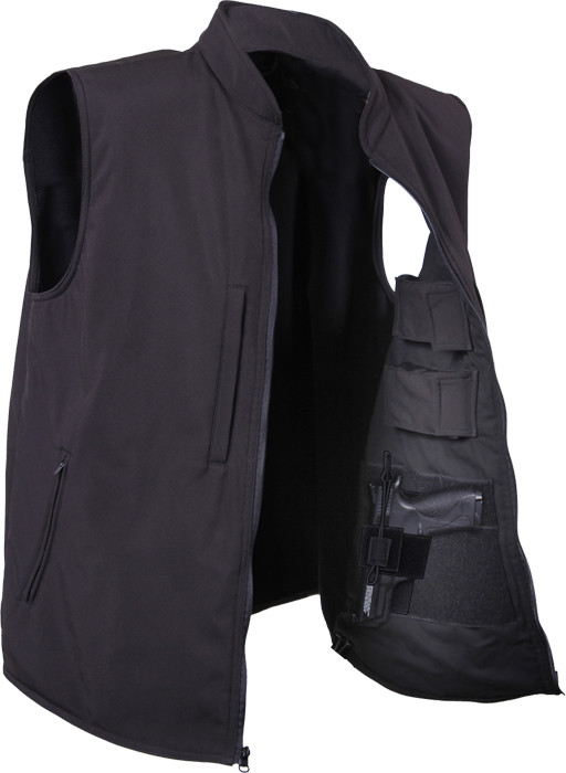 More Views. Black Military Concealed Soft Shell Tactical Carry Vest ... 7698cc05e0c