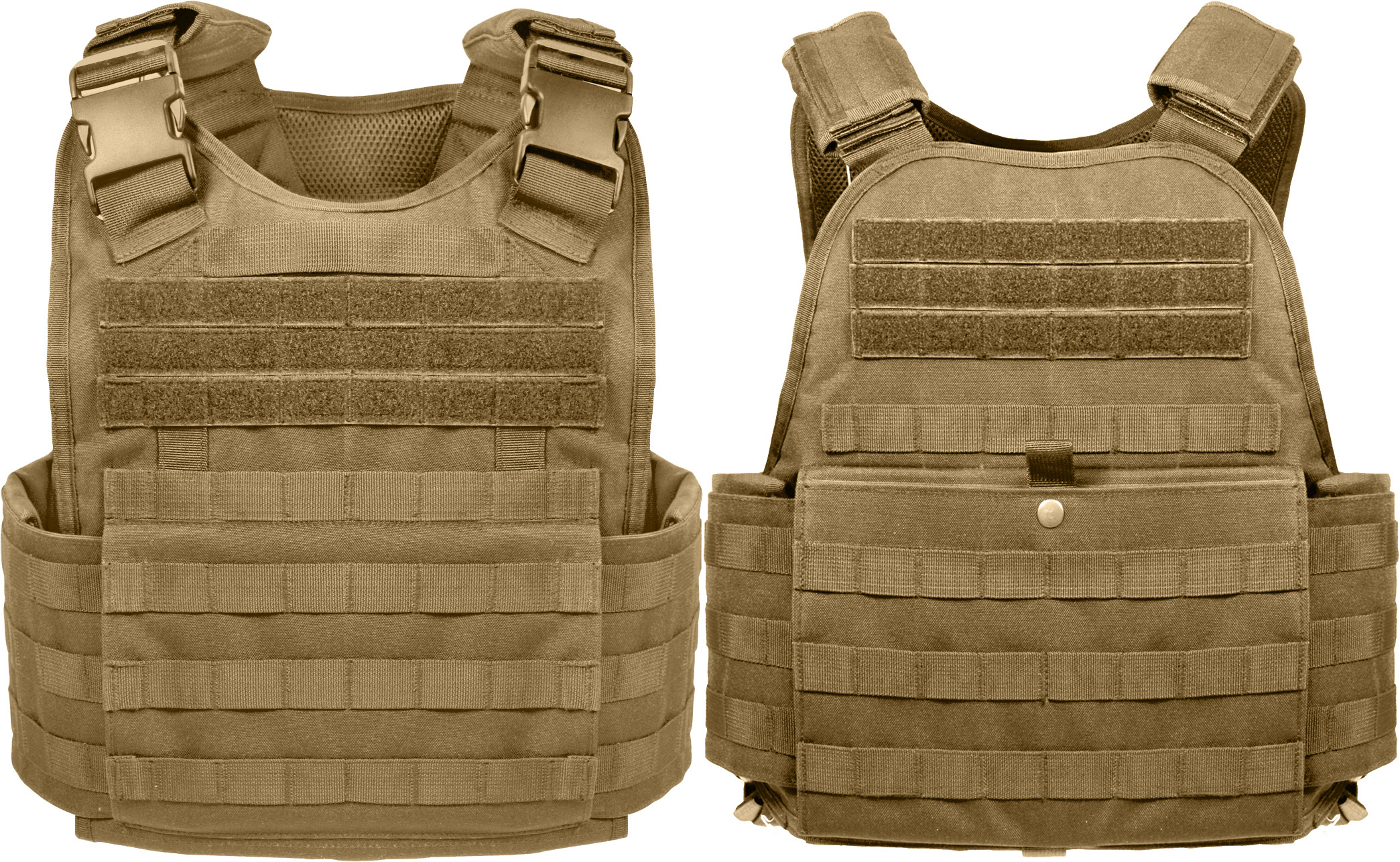 More Views. Coyote Brown Tactical MOLLE Plate Carrier Assault Vest ... 006146c94cb