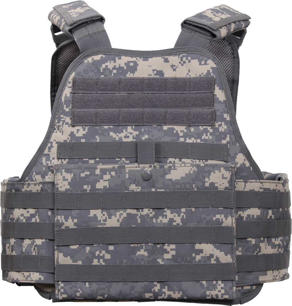 More Views. ACU Digital Military MOLLE Tactical Plate Carrier Assault Vest cf33418711c