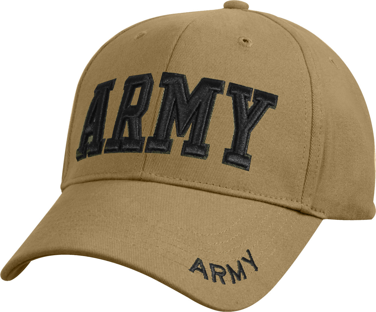 Coyote Brown Military US Army Deluxe Low Profile Adjustable Cap c28c5b6c5d1c