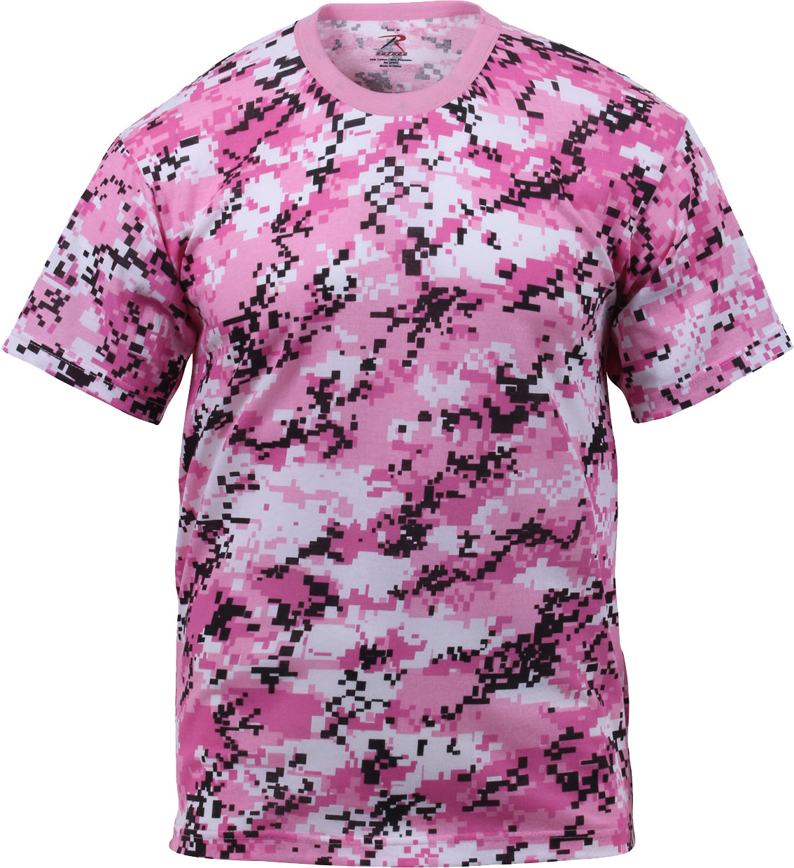 More Views. Pink Digital Camouflage Military Short Sleeve T-Shirt ... 67c25ed5222
