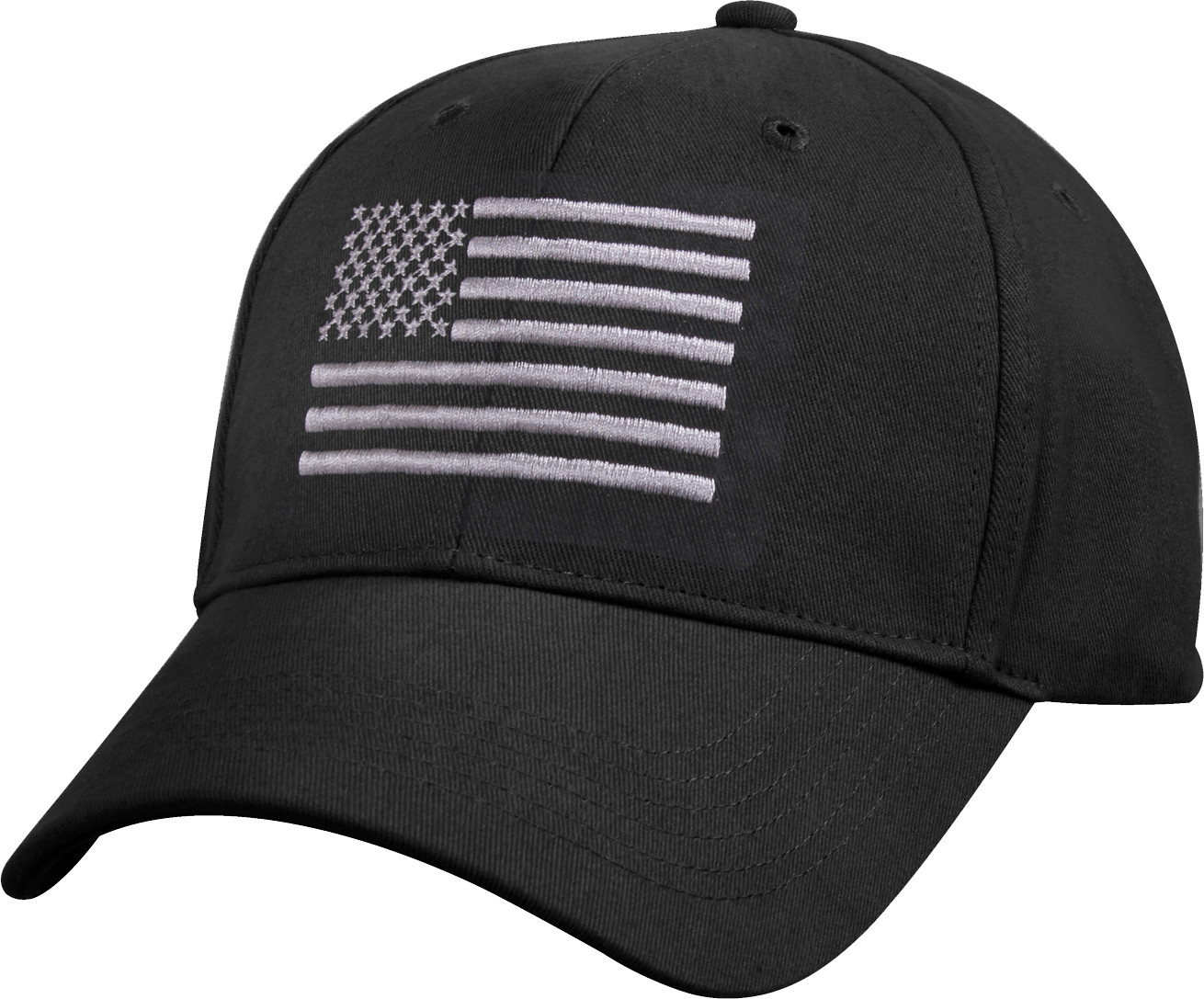 More Views. Black Deluxe Subdued US Flag Low Profile American Flag Baseball  Cap f81a1dca440