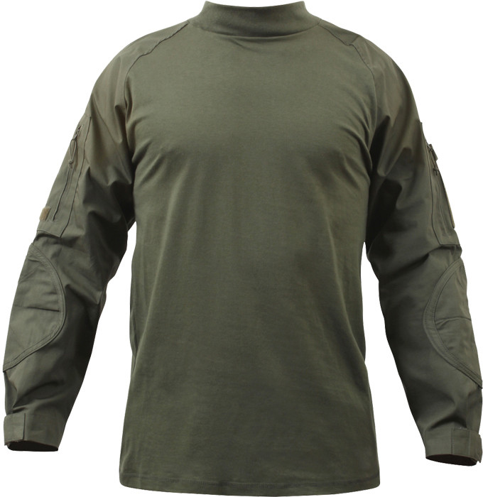 Olive Drab Military Heat Resistant Tactical Lightweight Combat Shirt 187e392b203