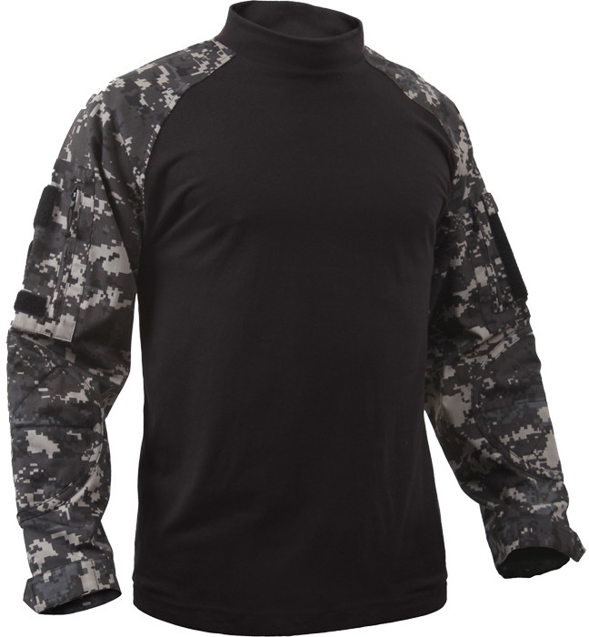 ... Subdued Urban Digital Camouflage Military Heat Resistant Tactical  Lightweight Combat Shirt (Sizing) 5e4beeb9870