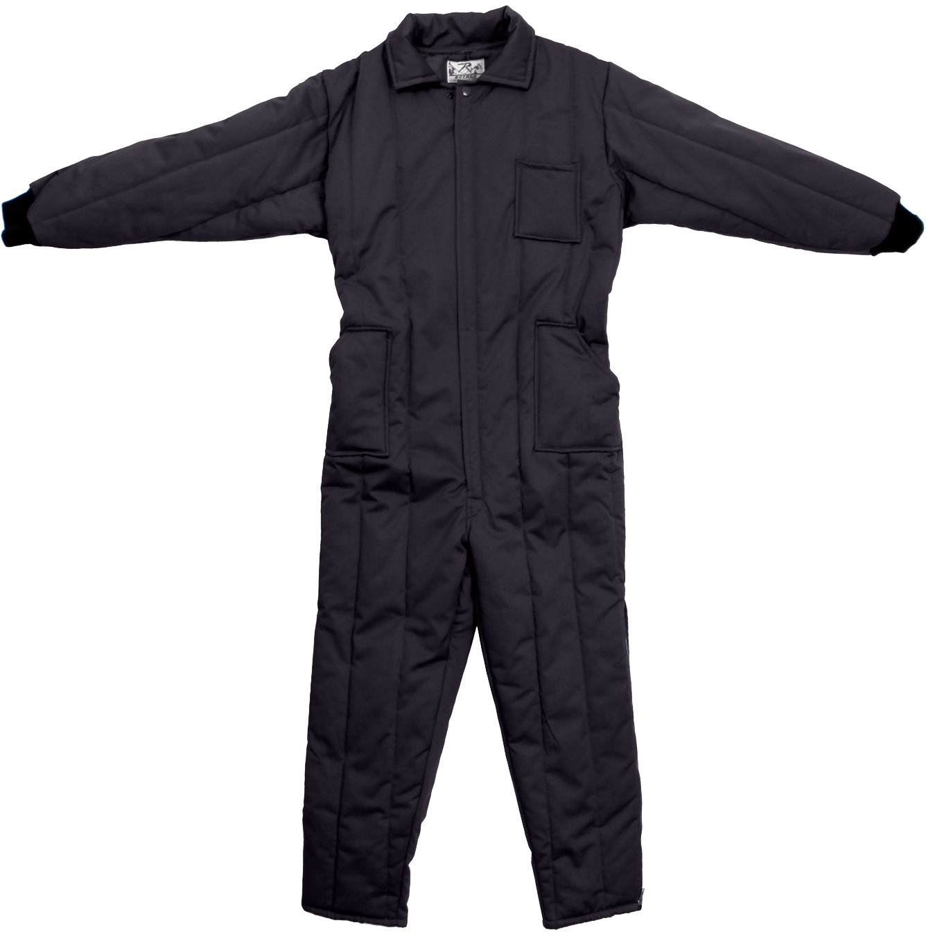 More Views. Black Cold Weather Insulated Coverall Jumpsuit ... a11193f32d51