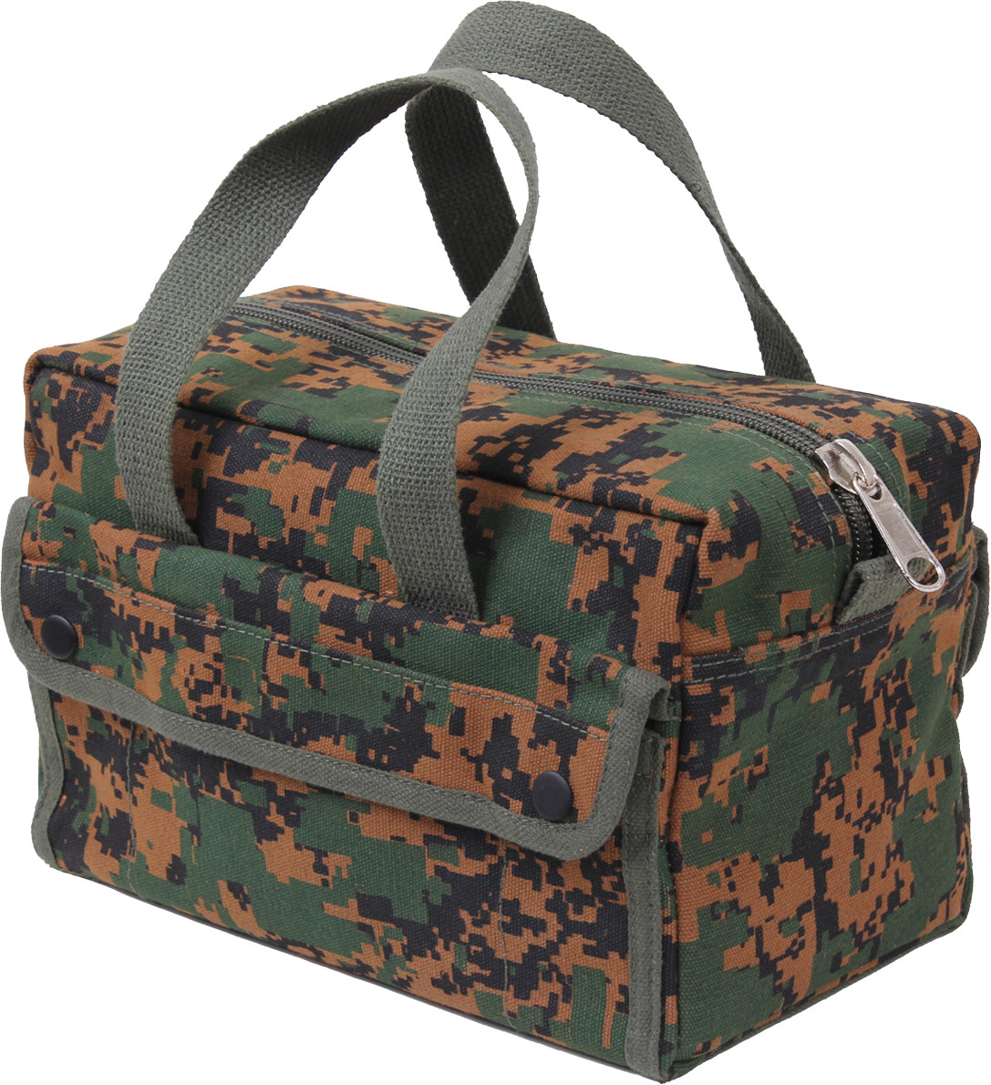 Woodland Digital Camouflage Military Canvas Mechanics Tool Bag cbe4d8e1321