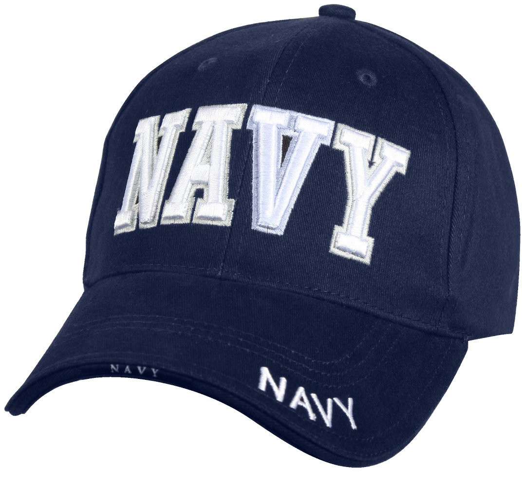 Navy Blue Military Navy Deluxe Low Profile Adjustable Cap b9f160dfb5d