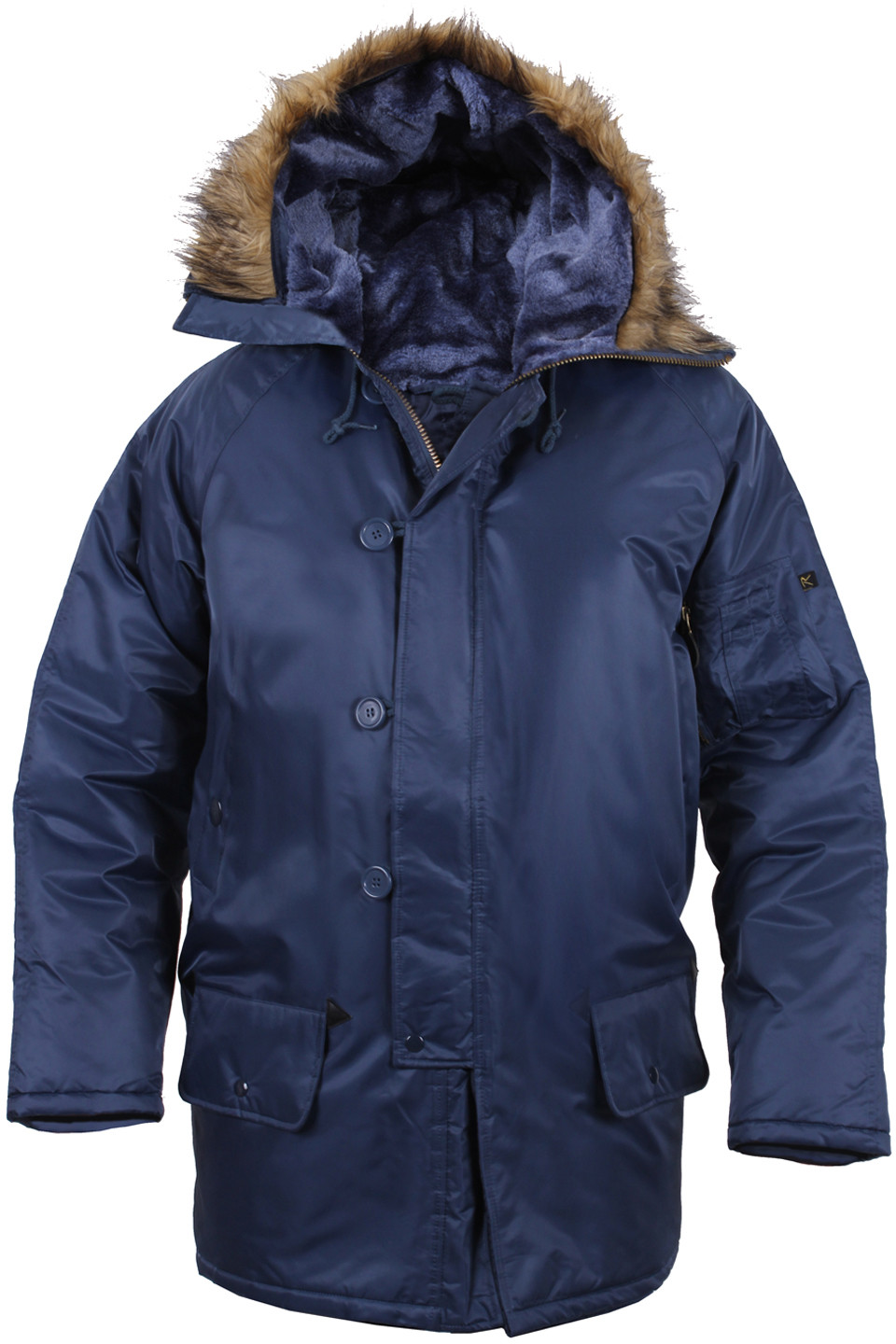 Parka Jacket Navy Blue