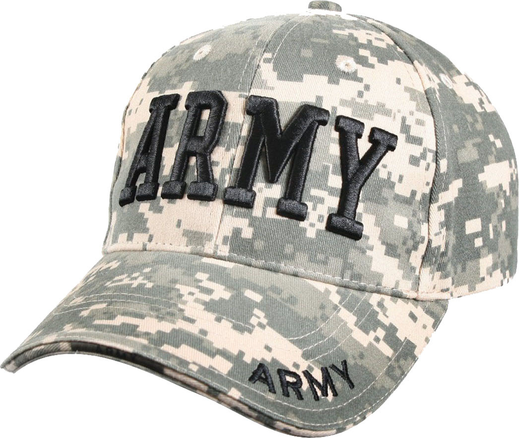 ACU Digital Camouflage US Army Deluxe Low Profile Adjustable Cap fd819dcec0d7