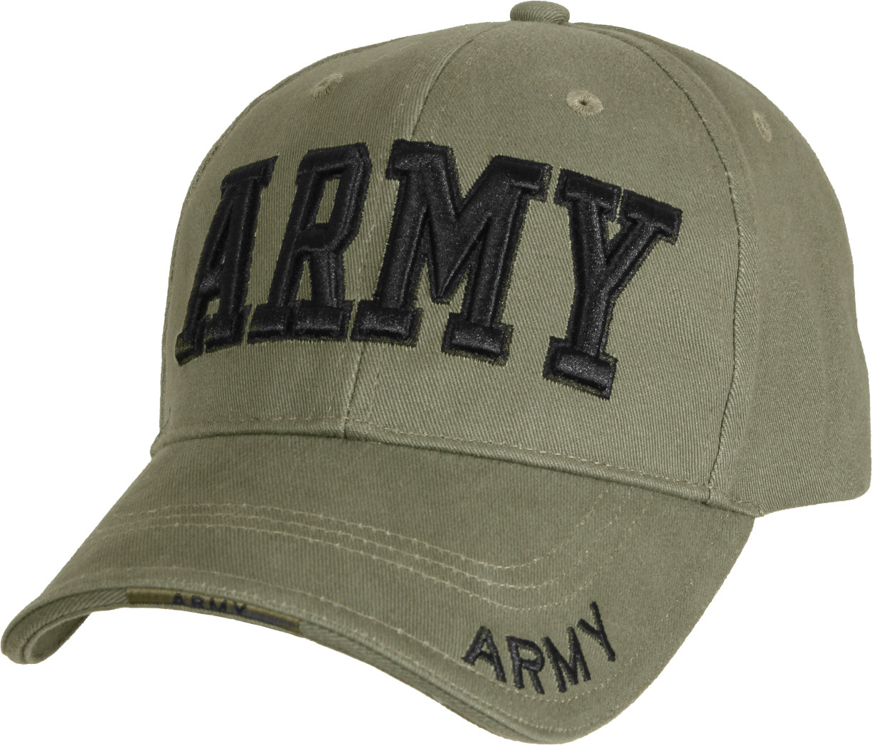 ARMY FIELD ARTILLERY  DIRECT EMBROIDERED BLACK  MILITARY HAT CAP
