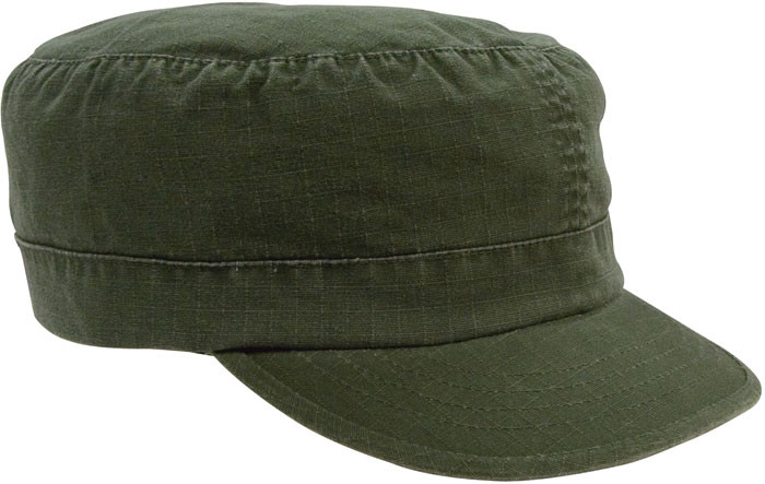 5ab9cfc5379330 More Views. Women's Olive Drab Vintage Military Adjustable Rip-Stop ...