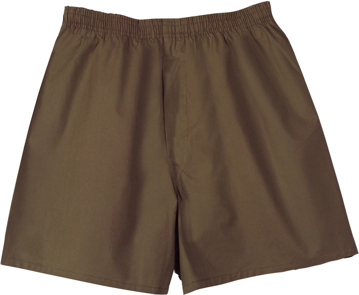Brown Military Boxer Brief Shorts 25fae6dd166